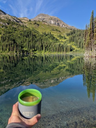 Terrible coffee in beautiful places
